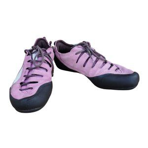 Puma Climbing Style Shoes, Pink + Brown